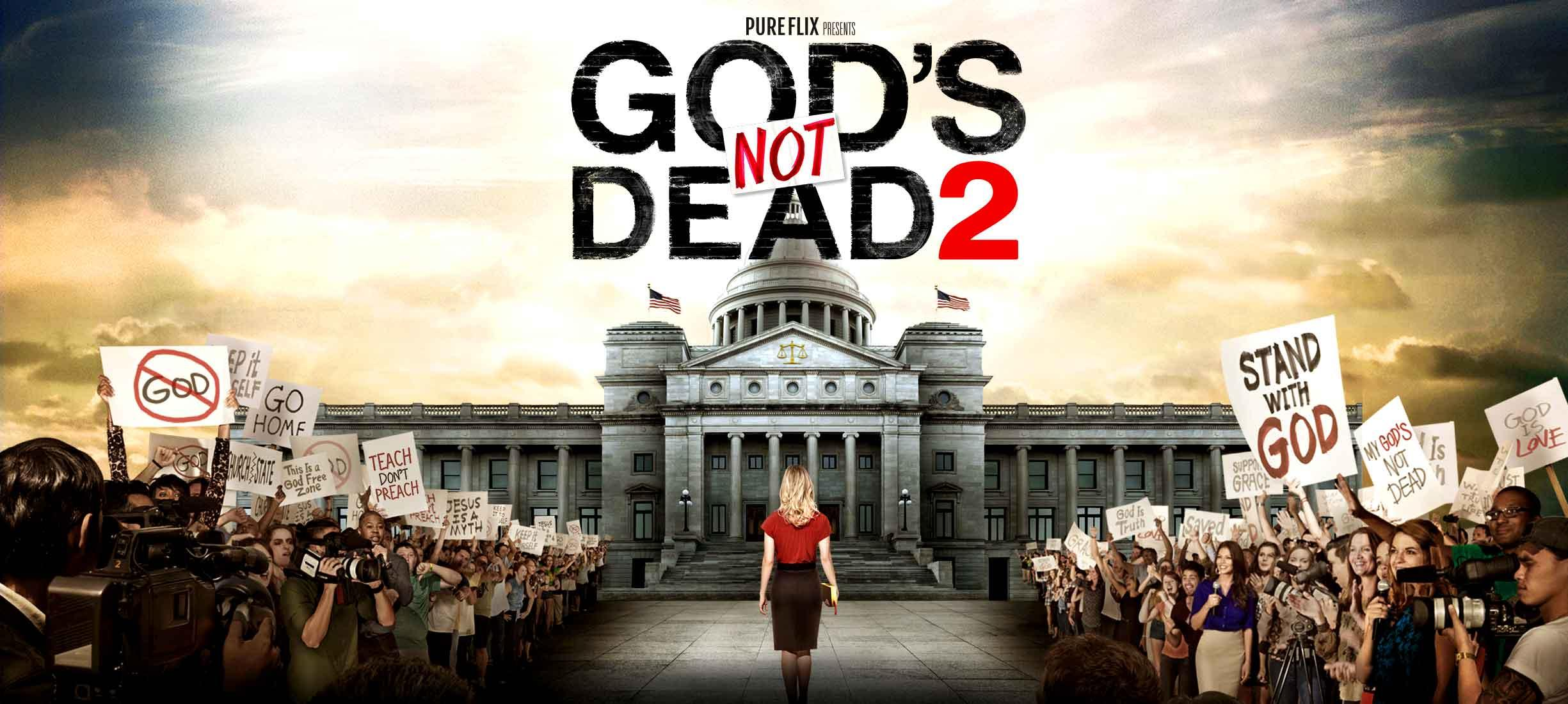 How to Watch God's Not Dead, God's Not Dead 2 Online for Free